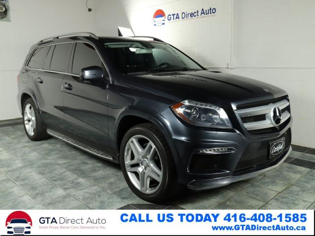 2013 Mercedes-Benz GL-Class GL350 BlueTEC AWD Nav Pano AMG 7Pass Cam Certified
