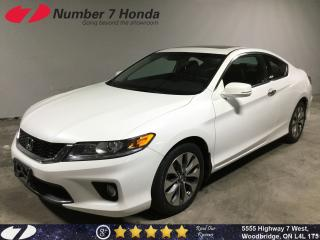 Used 2015 Honda Accord EX-L| Loaded| Leather| Navi| for sale in Woodbridge, ON