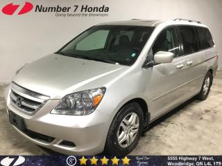 Used 2007 Honda Odyssey EX-L| Leather| Sunroof| for sale in Woodbridge, ON