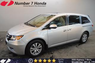 Used 2017 Honda Odyssey EX-L| Leather| Sunroof| DVD| for sale in Woodbridge, ON