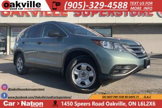 Used 2013 Honda CR-V LX   BLUETOOTH   B/U CAM   HTD SEATS for sale in Oakville, ON