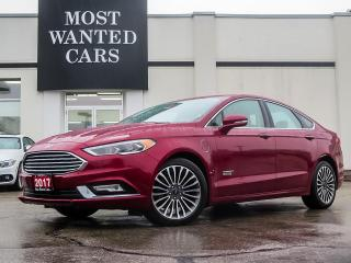 Used 2017 Ford Fusion Hybrid SE|HYBRID|NAVIGATION|LEATHER|SUNROOF for sale in Kitchener, ON