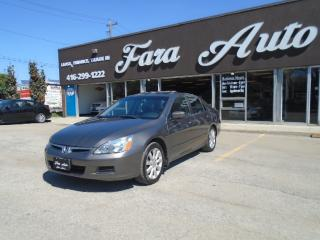 Used 2007 Honda Accord V6 AUTOMATIC , SE , SUNROOF for sale in Scarborough, ON