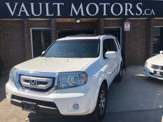 Used 2011 Honda Pilot honda Touring LOTS OF SERVICE RECORDS DONE AT DEALER for sale in Brampton, ON