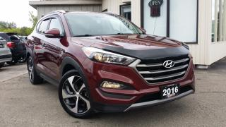 Used 2016 Hyundai Tucson PREMIUM AWD - TURBO! BACK-UP CAM! BSM! for sale in Kitchener, ON