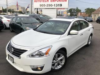Used 2015 Nissan Altima SL TECH AWD/NAVIGATION/CAMERA/LEATHER/SUNROOF for sale in Mississauga, ON