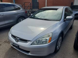 Used 2005 Honda Accord LX V-6, Steering CONTROLS, CD/AUX, Clean Carfax for sale in Toronto, ON