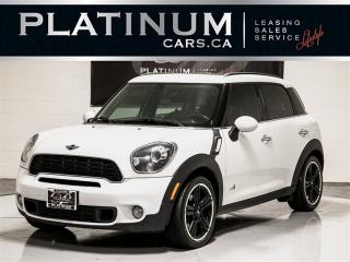 Used 2014 MINI Cooper Countryman S AWD, 4 DOORS, NAVI, 2x SUNROOF, PADDLE for sale in Toronto, ON