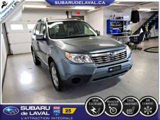 Used 2010 Subaru Forester 2.5X Awd ** Sièges chauffants ** for sale in Laval, QC