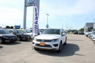 Used 2015 Volkswagen Touareg 3.0 TDI Highline for sale in Whitby, ON