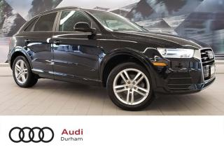 Used 2017 Audi Q3 2.0T Komfort + Pano Roof   AWD   Heated Seats for sale in Whitby, ON