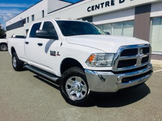 Used 2016 RAM 2500 SXT CREW CAISSE 8' CUMMINS for sale in Ste-Marie, QC