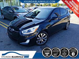Used 2016 Hyundai Accent GLS, TOIT OUVRANT, DEMARREUR for sale in Blainville, QC
