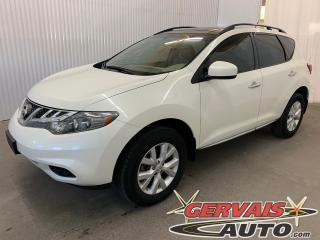 Used 2014 Nissan Murano SV AWD Toit Panoramique MAGS Bluetooth for sale in Shawinigan, QC