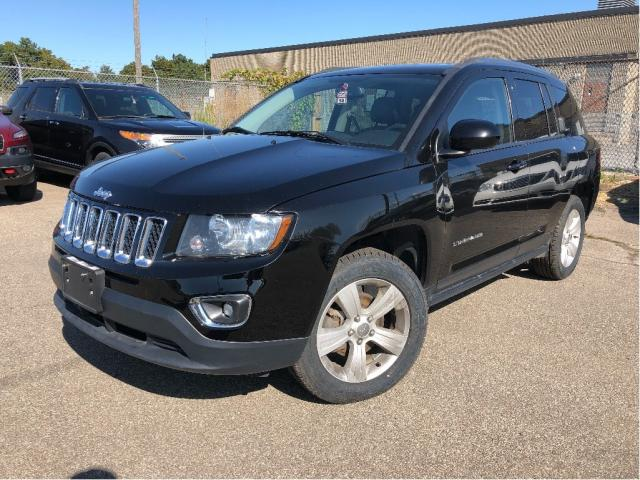 2016 Jeep Compass High Altitude | 4WD| Leather | Sunroof| Bluetooth