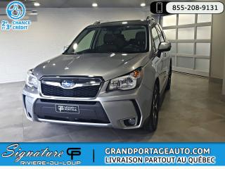 Used 2016 Subaru Forester 2.0XT Limited *Ens. Techno* Cuir Nav for sale in Rivière-Du-Loup, QC