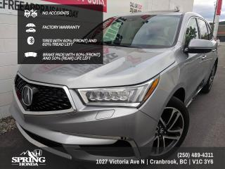 Used 2017 Acura MDX Technology Package NO ACCIDENTS, FACTORY WARRANTY, 2 SETS OF KEYS, LEATHER SEATS, DVD - $253 BI-WEEKLY - $0 DOWN for sale in Cranbrook, BC