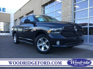 Used 2017 RAM 1500 SPORT for sale in Calgary, AB
