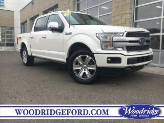 Used 2018 Ford F-150 Platinum ***PRICE REDUCED*** NO ACCIDENTS, NAVIGATION, ACTIVE PARK ASSIST, TECH PKG. for sale in Calgary, AB