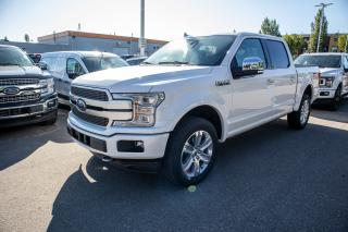 Used 2019 Ford F-150 PLATINUM for sale in Okotoks, AB