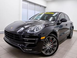 Used 2015 Porsche Macan TURBO AWD *TOIT PANO* NAVIGATION *MAGS 21PO* PROMO for sale in St-Jérôme, QC