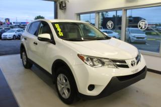 Used 2013 Toyota RAV4 LE TRACTION AVANT MAIN LIBRE for sale in Lévis, QC