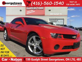 Used 2012 Chevrolet Camaro 1LS | 6 SPEED | TINTS | POWER GROUP | V6 for sale in Georgetown, ON