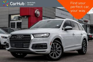 Used 2017 Audi Q7 3.0T Technik|7-Seater|Pano.Sunroof|BOSE|Heat.Seats|Keyless.Go|Bluetooth| for sale in Thornhill, ON