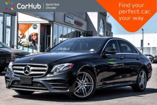Used 2017 Mercedes-Benz E-Class E 300|Smartphone.Integ,AMG.Styling,Light,Sun.Protection.Pkgs| for sale in Thornhill, ON