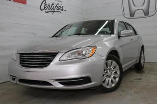 Used 2012 Chrysler 200 LX for sale in Blainville, QC