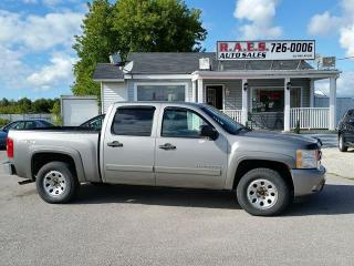 Used 2008 Chevrolet Silverado 1500 LT 4X4 CREW CAB for sale in Barrie, ON