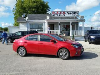 Used 2015 Toyota Corolla LE CVT SUNROOF for sale in Barrie, ON
