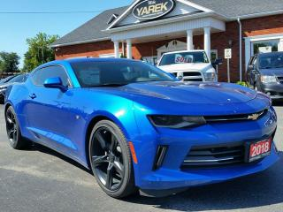 Used 2018 Chevrolet Camaro 1LT RS RWD, Bluetooth, Sunroof, Remote Start, RS Pkg, Back Up Cam for sale in Paris, ON