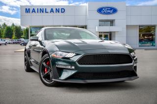 Used 2019 Ford Mustang BULLITT LOW KMS, ACCIDENT FREE, LOCALLY DRIVEN for sale in Surrey, BC