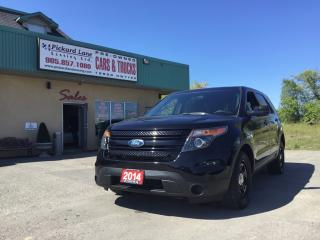 Used 2014 Ford Explorer Former Police Vehicle for sale in Bolton, ON
