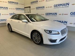 Used 2017 Lincoln MKZ SELECT- LUXE ABORDABLE- GPS-CUIR- TOIT OUVRANT-AWD for sale in St-Raymond, QC