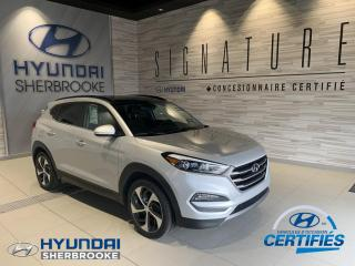 Used 2016 Hyundai Tucson LTD+AWD+DEMARREUR+GPS+CUIR+TOIT+CAMERA for sale in Sherbrooke, QC