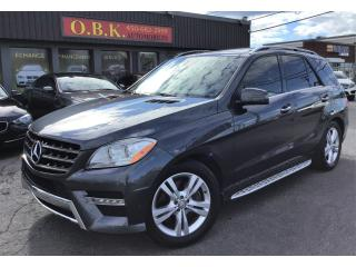 Used 2013 Mercedes-Benz ML-Class 2013 Mercedes-Benz M-Class - 4MATIC 4dr ML350 Blue for sale in Laval, QC