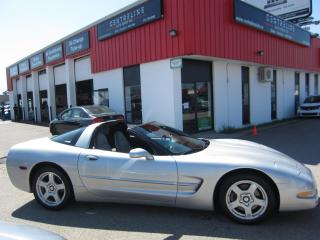 Used 1999 Chevrolet Corvette $15,995 +HST +LIC FEE / TARGA TOP / 1 OWNER /CLEAN CARFAX REPORT / for sale in North York, ON