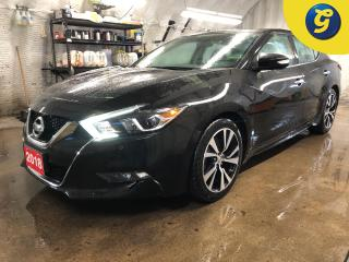 Used 2018 Nissan Maxima SL * 3.5 L V6 * Navigation * Leather * Remote start * Double power sunroof * Blind spot assist * Brake assist/intelligent cruise control * Driver aler for sale in Cambridge, ON