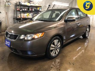Used 2013 Kia Forte5 EX * Power sunroof * Climate control * Heated front seats * Telescopic/tilt steering * Phone connect * Hands free steering wheel controls * Cruise con for sale in Cambridge, ON