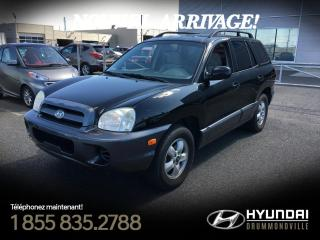 Used 2006 Hyundai Santa Fe V6 GL + 57 505 KM + MAGS + CRUISE + A/C for sale in Drummondville, QC