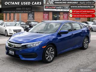Used 2016 Honda Civic EX Accident-Free! Certified! for sale in Scarborough, ON