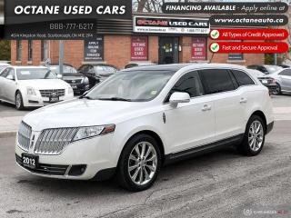 Used 2012 Lincoln MKT EcoBoost One Owner! 2 YEARS WARRANTY! for sale in Scarborough, ON