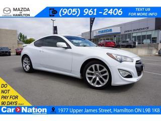 Used 2014 Hyundai Genesis Coupe 2.0T | NAV | LEATHER | SUNROOF | XM RADIO for sale in Hamilton, ON