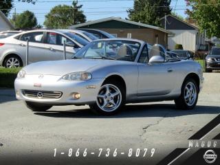 Used 2001 Mazda Miata MX-5 MAGS + PROVENANCE LOCALE + PROPRE! for sale in Magog, QC