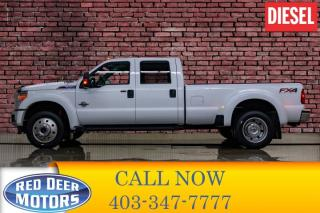 Used 2015 Ford F-450 4x4 Crew Cab XLT FX4 Dually Diesel for sale in Red Deer, AB