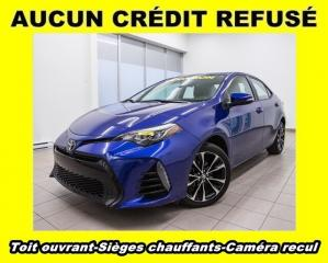 Used 2018 Toyota Corolla TOIT OUVRANT CAM RECUL SIÈGES CHAUFFANTS *BAS KM* for sale in Mirabel, QC