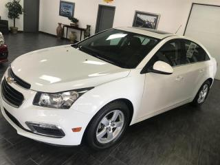 Used 2015 Chevrolet Cruze LT TURBO 2LT CUIR TOIT CAMERA MAGS for sale in Châteauguay, QC