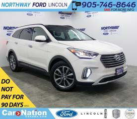 Used 2017 Hyundai Santa Fe XL Luxury | AWD | LEATHER | PANOROOF | 3 ROW | for sale in Brantford, ON